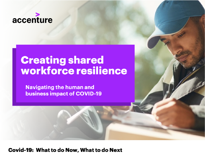 Accenture: Covid-19 CHRO Shared Workforce resilience
